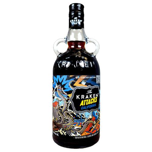 The Kraken Attacks California Limited Edition Rum