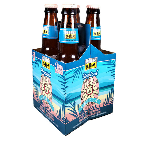 Bell's Tropical Oberon Wheat Ale 4-Pack 12oz