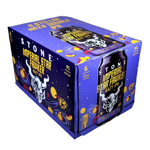 Stone Imperial Star Fawker Hazy IPA 6-Pack Can