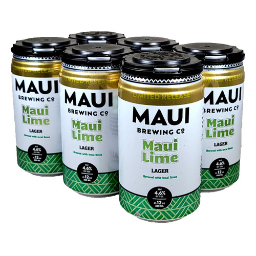 Maui Brewing Maui Lime Lager 6-Pack Can
