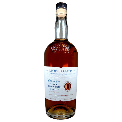 Leopold Brothers Three Chamber Rye Whiskey Collector's Edition