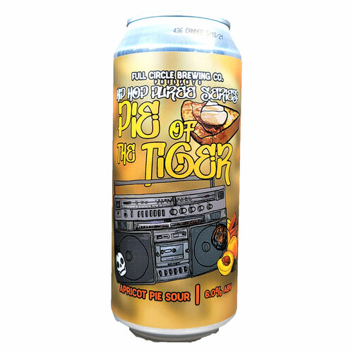 Full Circle Pie Of The Tiger Apricot Pie Sour Can