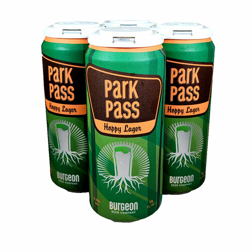 Burgeon / Highland Park Park Pass Hoppy Lager Can