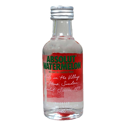 Absolut Watermelon Vodka 50ml