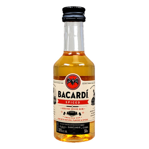 Bacardi Spiced Rum 50ML