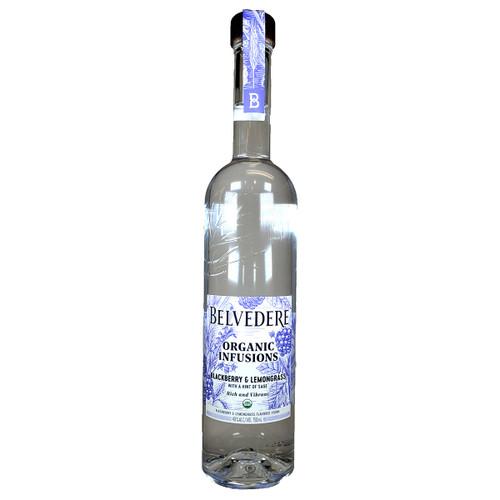 Belvedere Organic Infusions Blackberry & Lemongrass Vodka