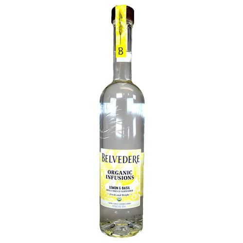 Bevedere Organic Infusions Lemon & Basil Vodka
