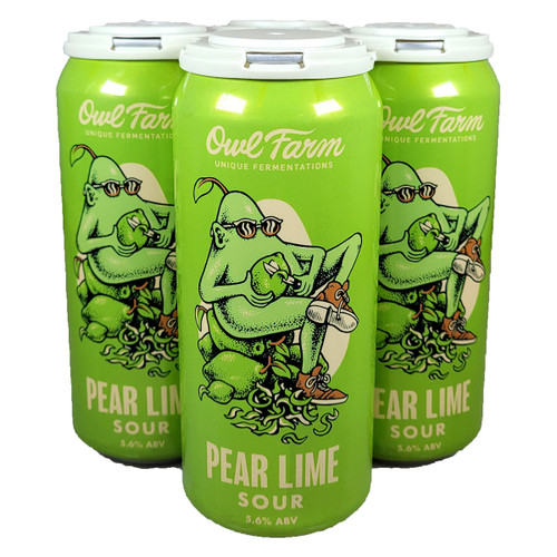 Owl Farm Pear Lime Sour 4-Pack Can