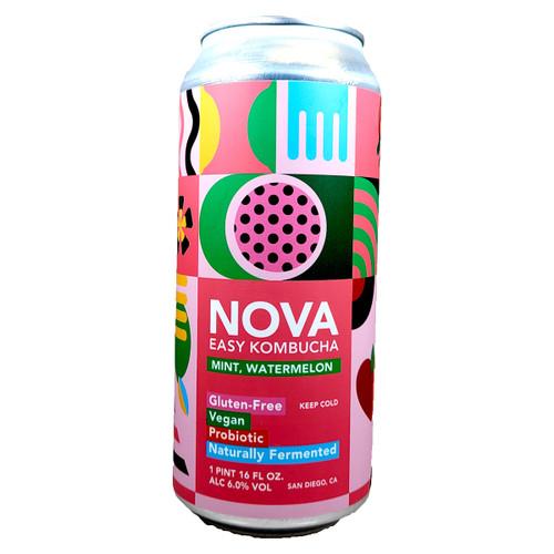 Nova Mint Watermelon Easy Kombucha Can