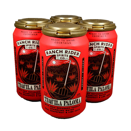 Ranch Rider Tequila Paloma Ready-To-Drink 4-Pack Can