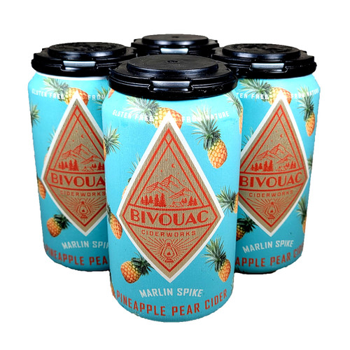 Bivouac Marlin Spike Pineapple Pear Cider 4-Pack Can
