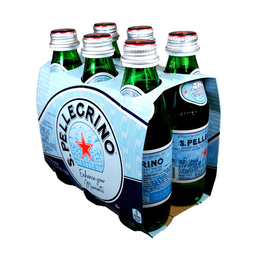S. Pellegrino Sparkling Natural Mineral Water 6-Pack