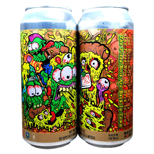 Mason Ale Works The Pizza Bois Are Back In Town West Coast Double IPA Can