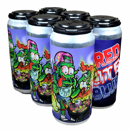 Mason Ale Works Red Lite and Blue American Light Lager 6-Pack Can
