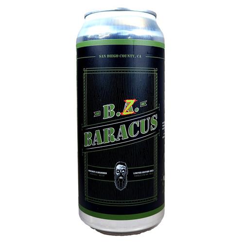 Mason Ale Works / Beer Zombies B. Z. Baracus Barrel Aged Barleywine Can