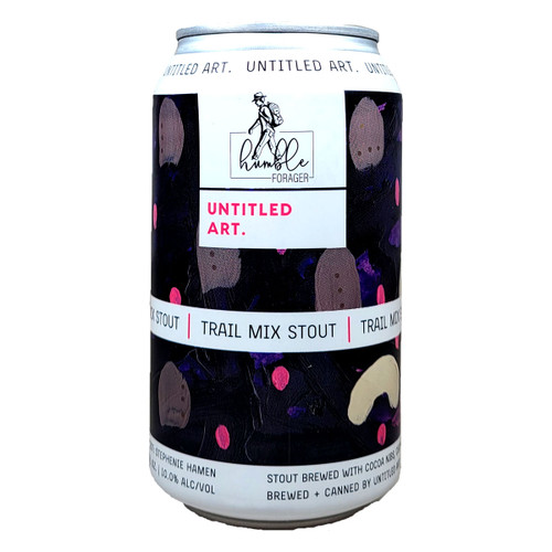 Untitled Art / Humble Forager Trail Mix Stout Can