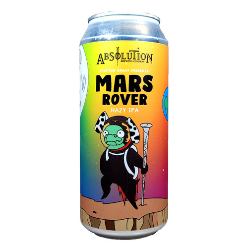 Absolution Floc'ing Great Presents Mars Rover Hazy IPA Can