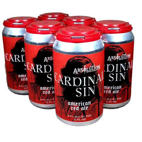 Absolution Cardinal Sin American Red Ale 6-Pack Can