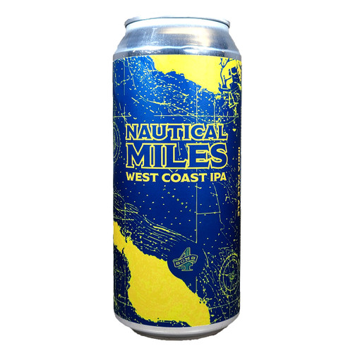 4 Sons Nautical Miles West Coast IPA Can