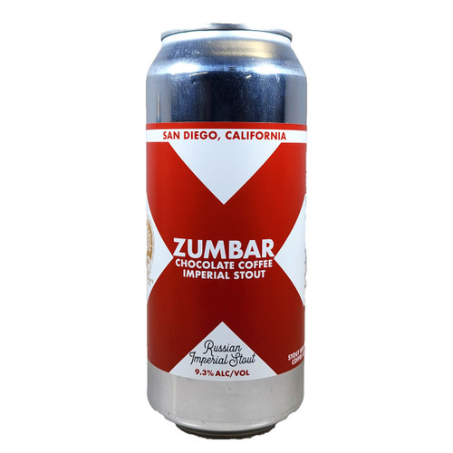 New English Zumbar Chocolate Coffee Imperial Stout Can 16oz