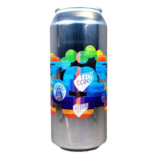 Brouwerij West Time Scoop Can Conditioned Saison Ale Can