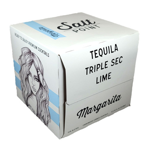 Salt Point Margarita Ready-To-Drink Cocktail 4-Pack Can