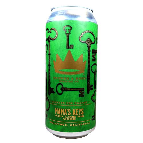 Crowns & Hops Mama's Keys Key Lime Pie Gose Can