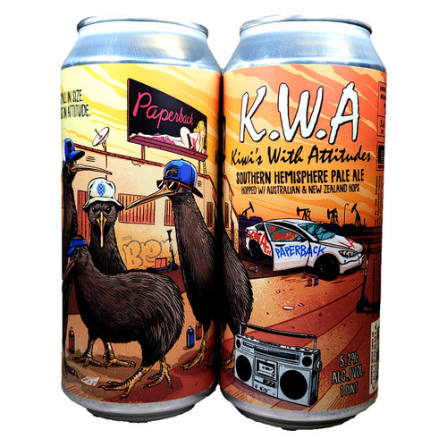 Paperback Kiwis With Attitudes Southern Hemisphere Pale Ale Can