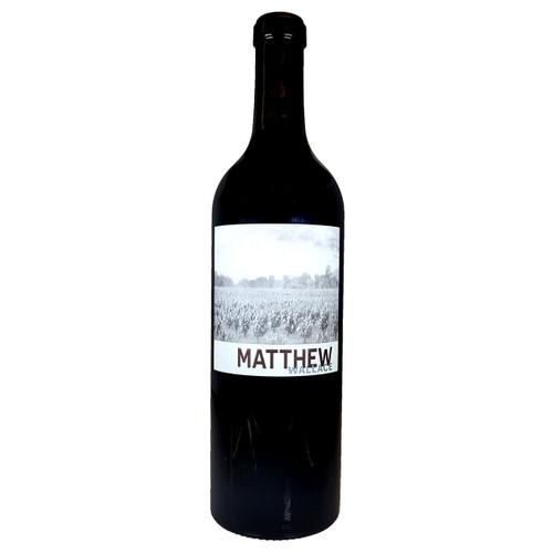 Matthew Wallace 2018 Regusci Vineyards Block 1 Cabernet Sauvignon