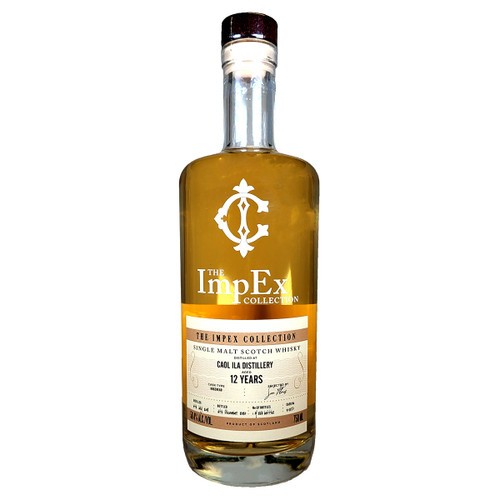 The Impex Collection Caol Ila 2008 12 Year Single Malt Scotch Whisky Cask #313250