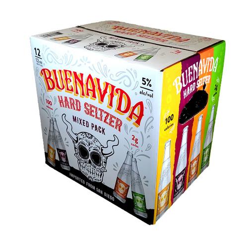 Stone Buenavida Hard Seltzer Mixed Pack 12-Pack
