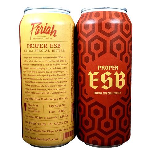 Pariah Proper ESB Can
