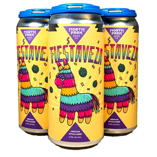 North Park Fiestaveza Mexican Style Lager 4-Pack Can