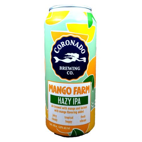 Coronado Mango Farm Hazy IPA Can