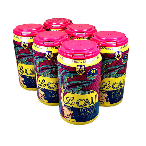 Belching Beaver Lo Cali Hoppy Lager 6-Pack Can