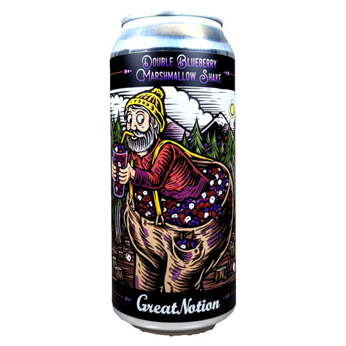 Great Notion Double Blueberry Marshmallow Shake Tart Ale Can 16oz