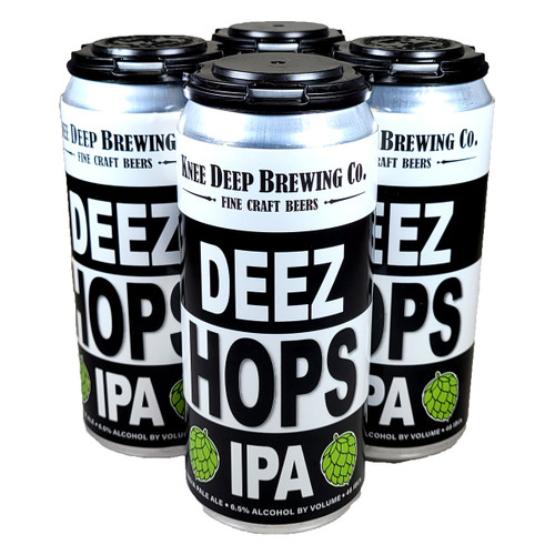 Knee Deep Deez Hops IPA 4-Pack Can