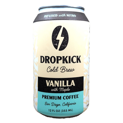 Dropkick Cold Brew Vanilla with Maple Premium Coffee Can