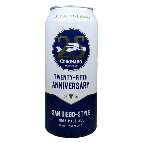 Coronado 25th Anniversary San Diego-Style IPA Can