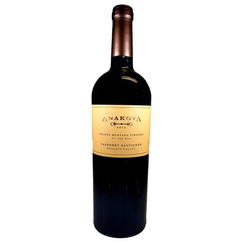 Anakota 2015 Helena Montana Vineyard Cabernet Sauvignon, 750ml