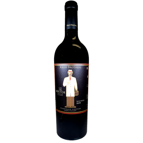 Krupp Brothers 2016 The Doctor Red Wine