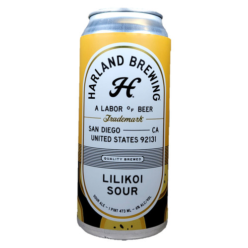 Harland Lilikoi Sour Ale Can