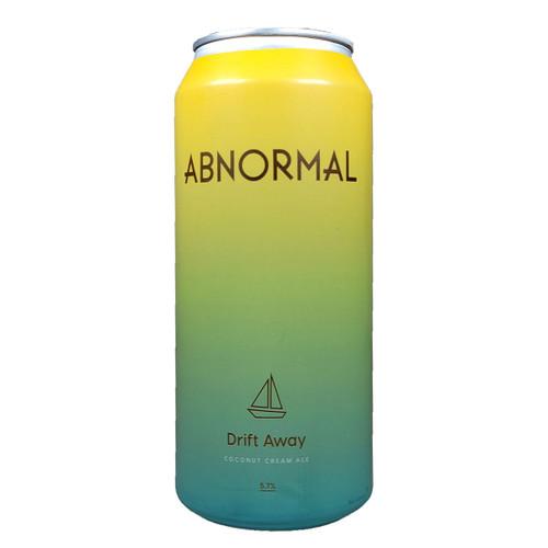 Abnormal Drift Away Coconut Cream Ale Can
