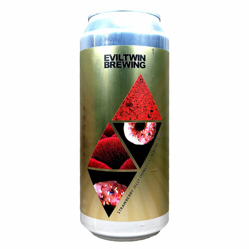 Evil Twin Strawberry Jelly Donut Even  More Jesus Imperial Stout Can