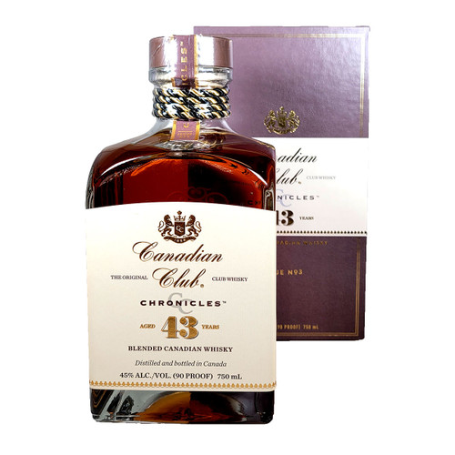 Canadian Club Chronicles 'The Speakeasy' 43 Year Old Blended Canadian Whisky
