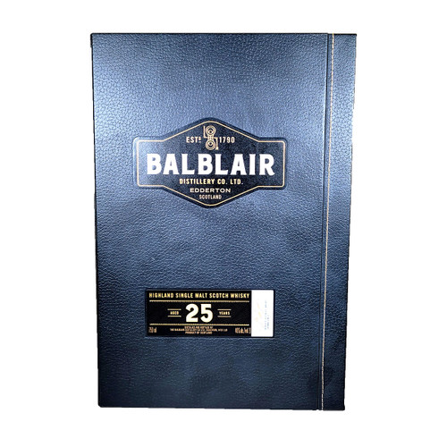 Balblair 25 Year Old Highland Single Malt Scotch Whisky
