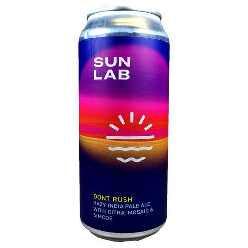 Sun Lab Don't Rush Hazy IPA Can