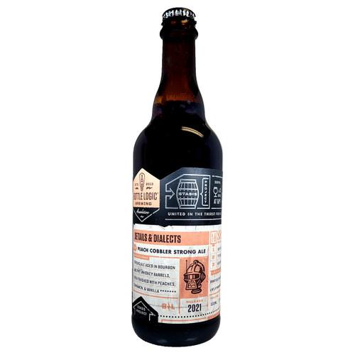 Bottle Logic Details & Dialects Peach Cobbler Strong Ale