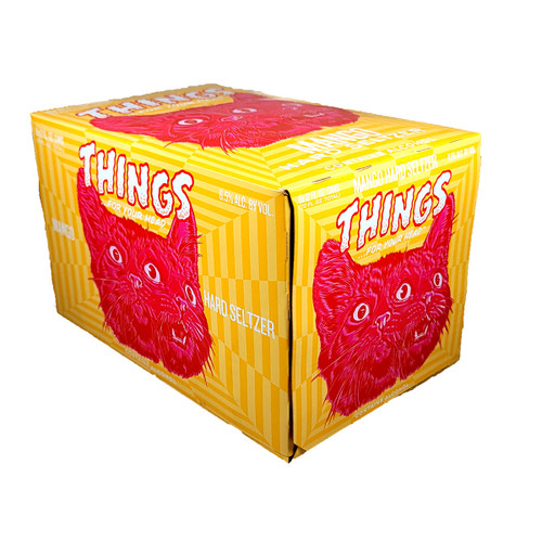 Things ... For Your Head Mango Seltzer 6-Pack Can
