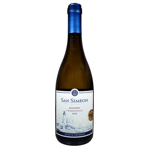San Simeon 2018 Estate Reserve Chardonnay, 750ml